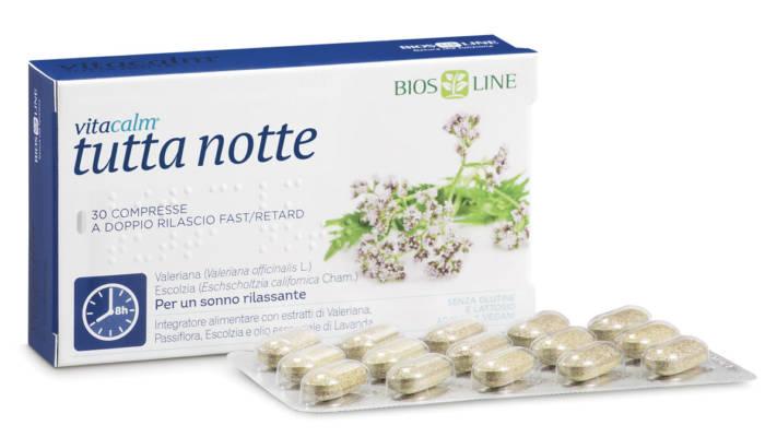 Vitacalm Tutta Notte | Erboristeria Il Girasole Ravenna