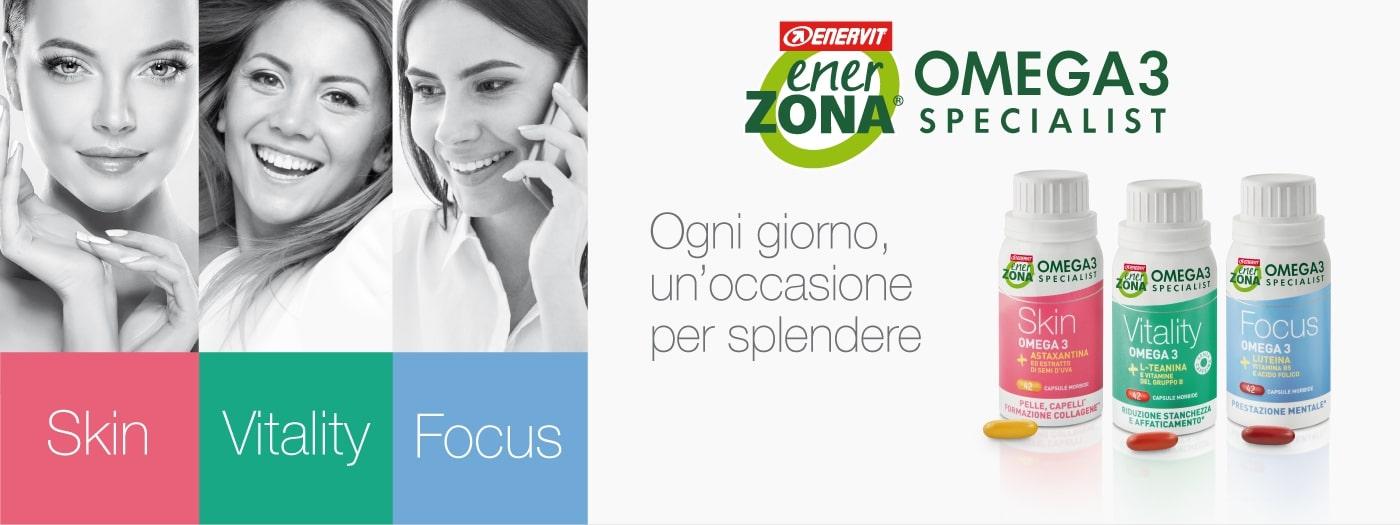 Enerzona Omega3 Specialist | Erboristeria il Girasole