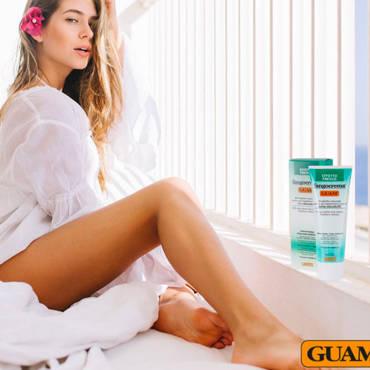 Stop a gonfiore e pesantezza alle gambe con Guam
