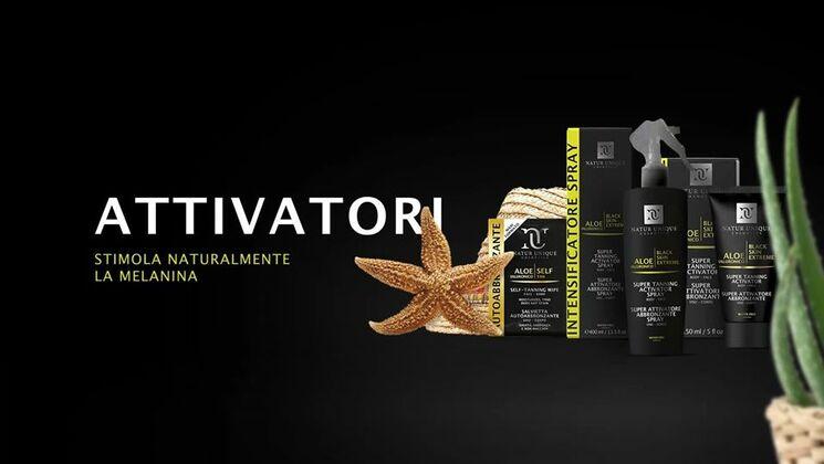 Intensificatori di abbronzatura Natur Unique | Erboristeria Il Girasole Ravenna